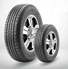 2 x Cubierta Bridgestone Dueler 205 R 16 H/t Nuevas