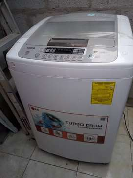 Se vende hermosa lavadora lG
