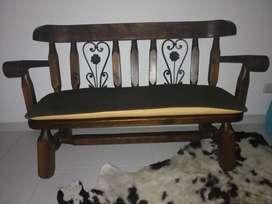 Sala comedor madera rústica