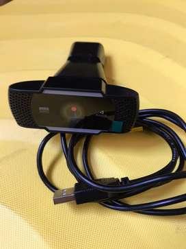 Camara web cam kisonli full HD 1080 p coneccion usb