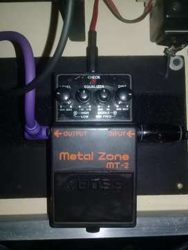 Boos Metal Zone