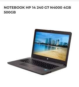NOTEBOOK HP 14' 4gb 500gb