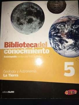 Revista La biblioteca del conocimiento N5 La tierra