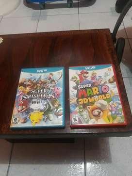 Vendo Juegos de Wii U O Cambió