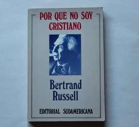 POR QUE NO SOY CRISTIANO - BERTRAND RUSSELL, EDITORIAL SUDAMERICANA, USADO