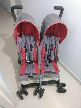 Coche doble para bebés