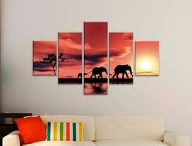Cuadro Elefantes para Tus Espacios