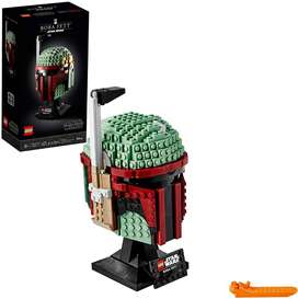 LEGO Star Wars Boba Fett Helmet 75277 Building Kit Cool Collectible Character Set New 2020 625 Pieces Ref:VS-US0035351