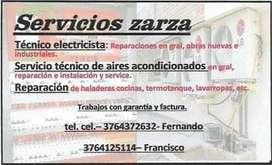 servicios zarza
