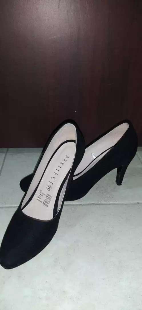 Zapatos en gamuza # 37 solo se usaron 1 vez