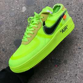 Tenis Nike Air Forcé one off white caballero