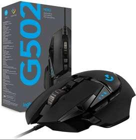 Mouse Gamer Logitech G Series Hero G502 Negro