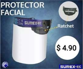 Protector facial. Protectores.