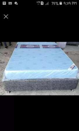 Somier doble más colchón