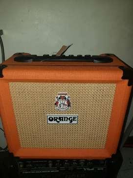 Amplificador Orange Crush 12 Naranja