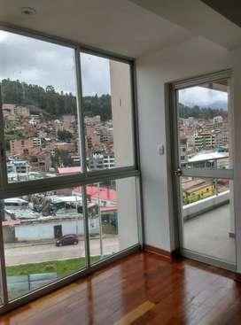 Alquilo bonito departamento en zona residencial del Cusco, Urb. Quispicanchis Av. Brasil.
