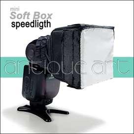 A64 Mini Soft Box Flash Speedligth Nikon Canon Sony Olympus