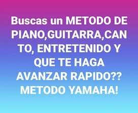 Clases de PIANO ORGANO GUITARRA CANTO A DISTANCIA CON SISTEMA YAMAHA
