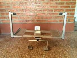 Soporte TV hierro muy resistente 55 a 80 cm de ancho