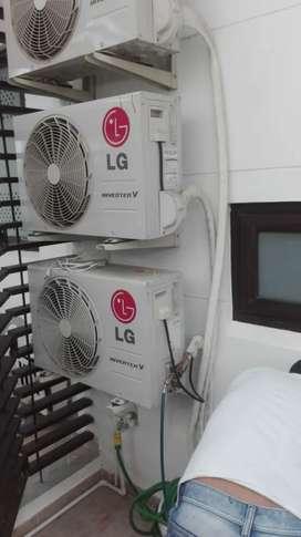 Instalación aires acondicionados