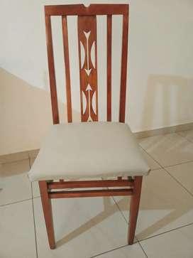 2 sillas antiguas restauradas