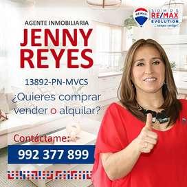JENNY REYES SEBASTIANI AGENTE INMOBILIARIO  DE RE/MAX CODIGO PN 13892 MVCS