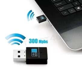 Adaptador Wifi Usb 300mbps 802.11n