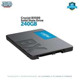 Disco Solido Ssd Crucial Bx500 240gb Sata3 2.5