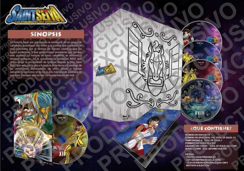Saint Seiya / Caballeros Del Zodiaco Serie Completa Hd Latin 0