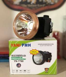 Linterna Yani 7760 Recargable Para Minería, Casería Original
