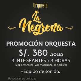 Orquesta Show La Negrona. Arequipa