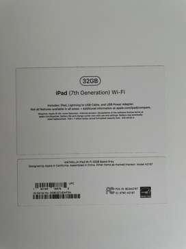 Ipad 7ma generacion 32gb