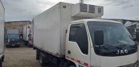 Jac 1045 2008 furgon thermo king