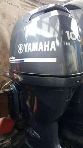 Vendo fuera de borda 100 hp 4t yamaha