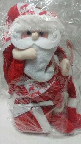 Muñeco Papa Noel con Base para Apoyar