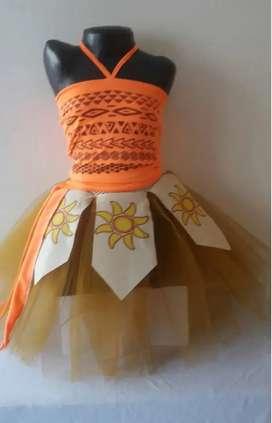 Espectacular Disfraz De Moana incluye el envío
