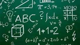 Clases de nivelación a domicilio Matemáticas, física, razonamiento lógico, numérico y abstracto