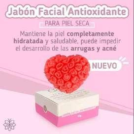 Jabón Facial Antioxidante Piel Mixta o seca