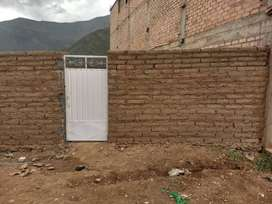 REMATO TERRENO DE 148 MT A UNA CUADRA DE LA CARRETERA CENTRAL . HUANUCO