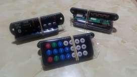 TARJETA LECTORA DE RADIO, MP3, USB, SD 12V CON BLUETOOTH