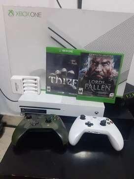 Xbox one S full como nuevo