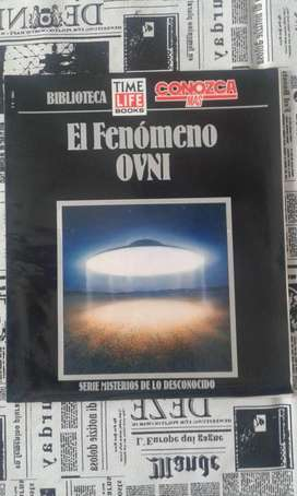 Revista Conozca Mas Biblioteca Time Life El Fenomeno Ovni 1992