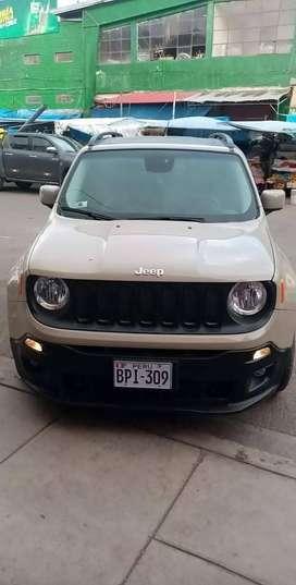 Jeep Renegade motor 1.4, 4x4 turbo, control crucero, pantalla retrovisor, full equipado,