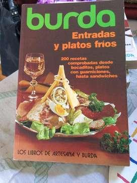Libro Coleccion Burda Entradas y platos frios