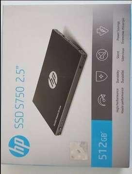 DISCO HP S750 3D NAND 512GB SSD NUEVO SELLADO