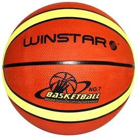 Pelota Balón Basket Basquet Winstar Peso Medida Oficial N 7