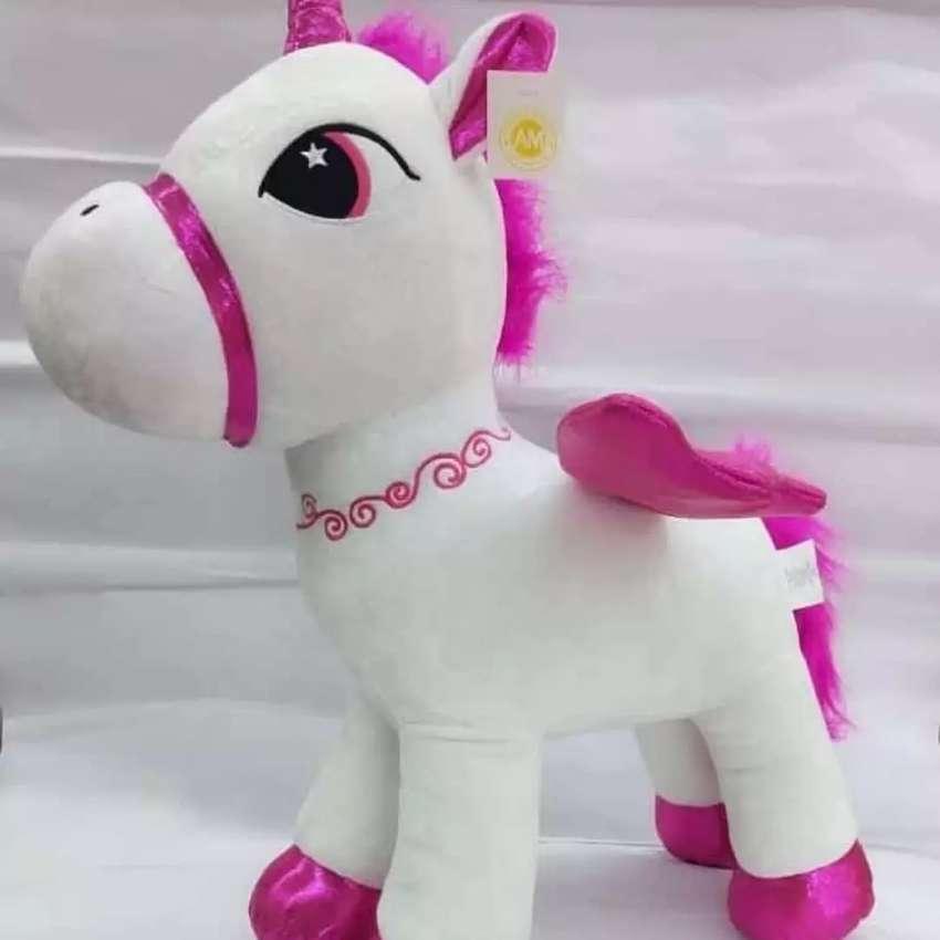 Peluche unicornio grande 60cm solo esos dos modelos 0