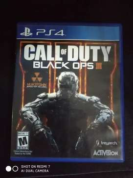 Call of duty black ops 3 ps4 poco uso