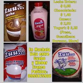 Productos lácteos ZUU