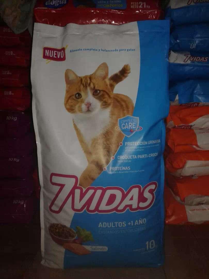Alimento para gato 7VIDAS 0
